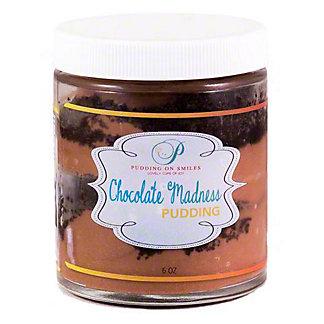 Pudding On Smiles Chocolate Madness Pudding, 6 oz