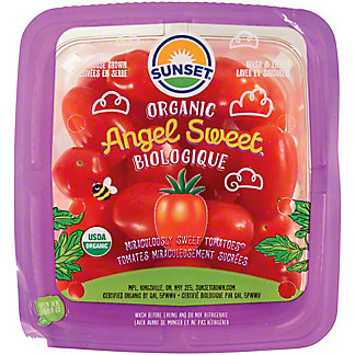 Sunset Organic Angel Sweet Tomatoes, 16 oz