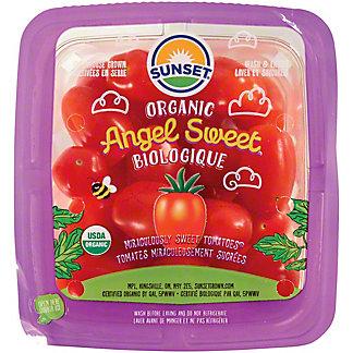 Sunset Organic Angel Sweet Tomatoes, 16 oz