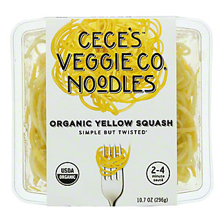 Cece's Veggie Co. Organic Yellow Squash Spirals, 10.7 oz