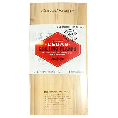 Central Market 7X15 Cedar Grilling Plank, 2-pack