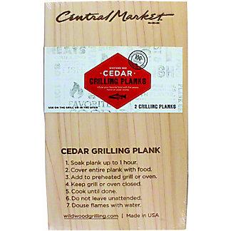 Wildwood 2-pack 5X8 Cedar Grilling Plank, 2 pack
