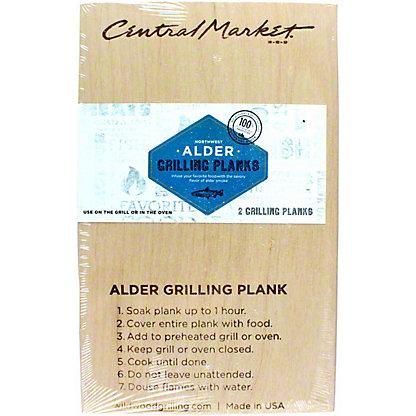 Central Market 2-pack Alder Grilling Plank, 5X8