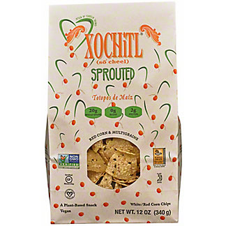 Xochitl Sprouted Red Corn Tortilla Chips, 12 oz