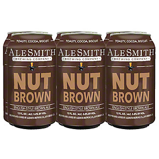 Alesmith Nutbrown Cans, 6 pk