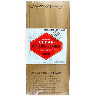 Wildwood 2-pack 5X11 Cedar Grilling Plank, 2 Pack