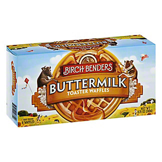 Birch Benders Toaster Waffles Buttermilk, 8.75 oz