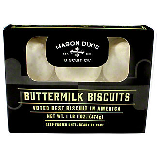 Mason Dixie Biscuit Co Buttermilk Biscuits, 17 oz