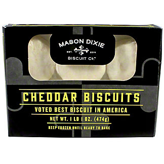 Mason Dixie Biscuit Co. Cheddar Biscuits, 17 oz