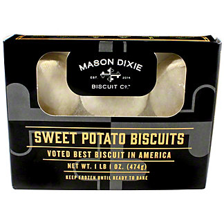 Mason Dixie Biscuit Co. Sweet Potato Biscuits, 17 oz