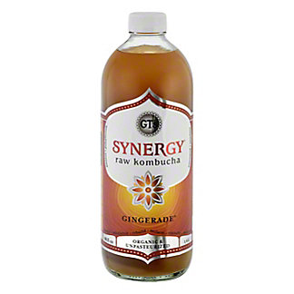 GT's Enlightened Organic Raw Gingerade Kombucha, 48 oz