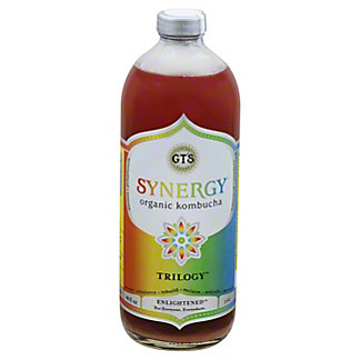 GT's Enlightened Synergy Trilogy Kombucha, 48 oz