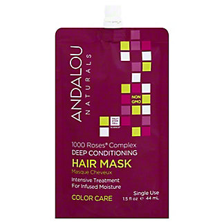 Andalou Naturals Deep Conditioning Color Care Hair Mask, 1.5 fl oz