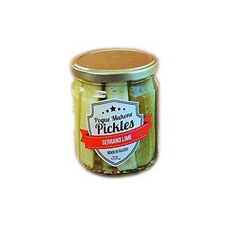 Pogue Mahone Serrano Lime Pickles, 16 oz