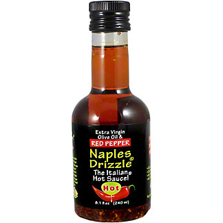 Naples Drizzle Italian Hot Sauce Oil, 8.1 oz