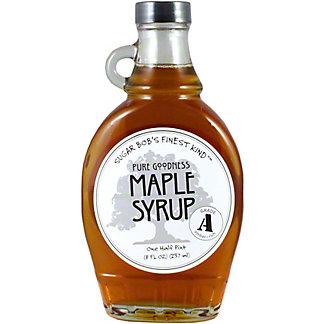 Sugar Bob's Grade A Maple Syrup, 8 OZ