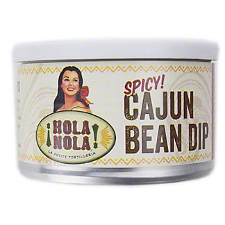 Hola Nola Spicy Cajun Bean Dip, 9 oz
