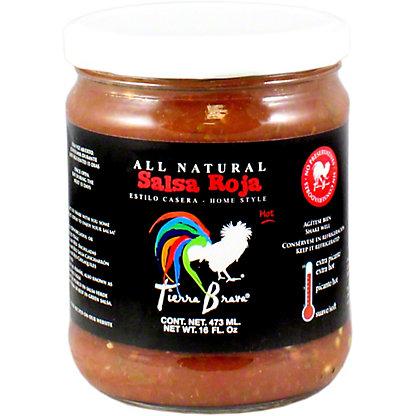 Tierra Brava Homemade Red Salsa, 16 oz