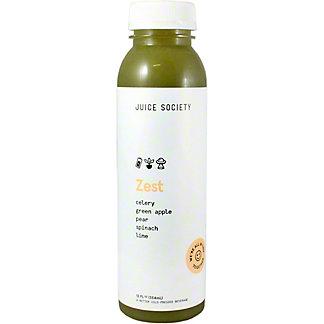Juice Society Zest, 12 oz