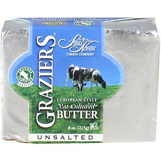 Sierra Nevada Graziers Butter Vat Cultured European Unsalted, 8 oz