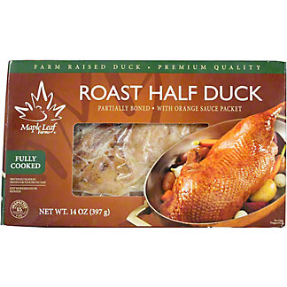 Maple Leaf Farms Roast Half Duck, 14 oz