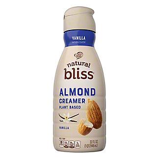 Nestle Coffee-Mate Natural Bliss Vanilla Almond Milk Coffee Creamer, 32 oz