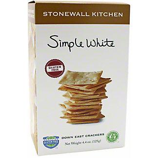 Stonewall Kitchen Cracker Simple White Gluten Free, 4.4 oz