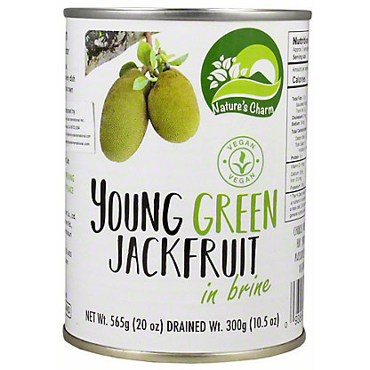 Natures Charm Jack Fruit Young Green Brine, 20 oz