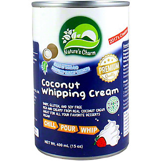 Nature's Charm Coconut Whipping Cream, 15 oz