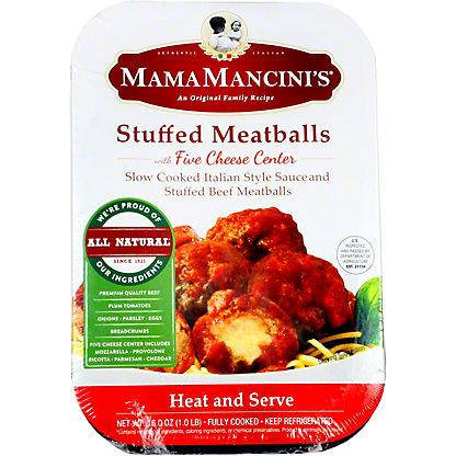 Mama Mancinis Stuffed Beef Meatballs, 16 oz