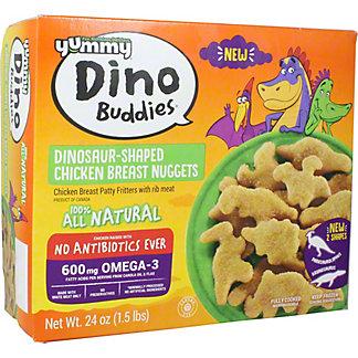 Yummy Dino Buddies All Natural Dino Buddies Chicken Nuggets, 24 oz