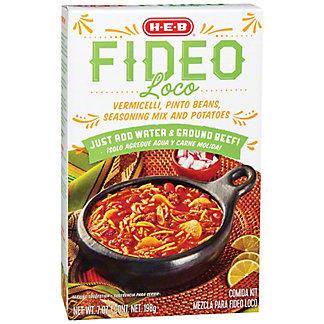 H-E-B Fideo Loco Comida Kit, 7 oz