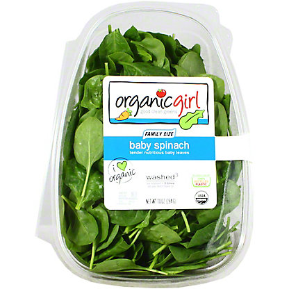 Organic Girl Baby Spinach, 10 oz