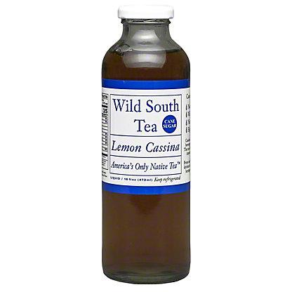 Wild South Tea Lemon Cassina, 16 oz
