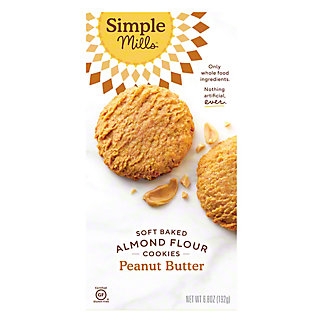 Simple Mills Soft Baked Cookie Peanut Butter, 6.2 oz