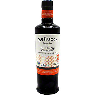 Bellucci Sicilia PGI Organic Extra Virgin Olive Oil, 500 mL