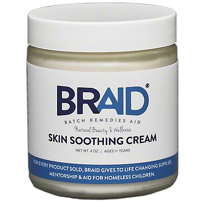 Braid Baby Skin Soothing Cream 1+ Years, 4 oz