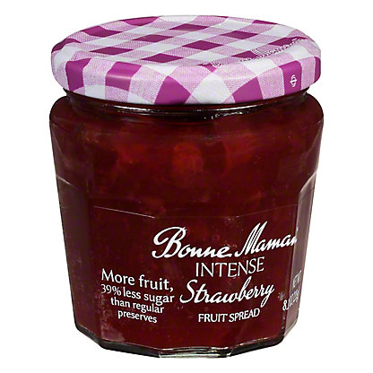 Bonne Maman Intense Strawberry Spread, 8.2 oz
