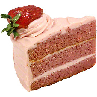 Central Market Strawberry Cake Slice, 5.75 OZ