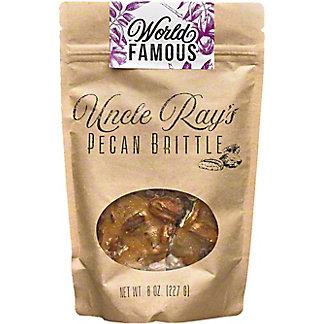 Uncle Rays Pecan Brittle, 8 oz