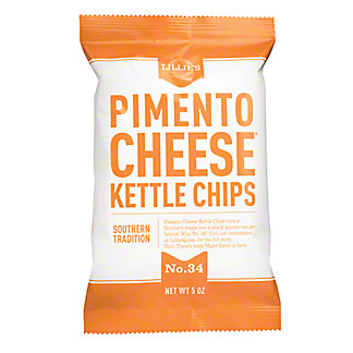 Lillies Q Pimiento Cheese Kettle Chips, 5 OZ