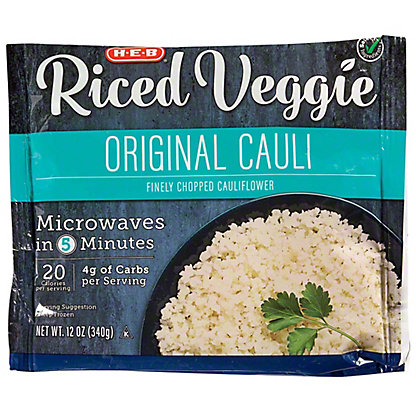 H-E-B Select Ingredients Riced Original Cauliflower, 12 oz