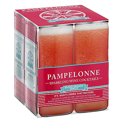 Pampelonne Blood Orange Spritz, 4/250 mL