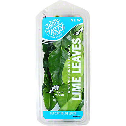 That's tasty Lime Leaves, .75 oz