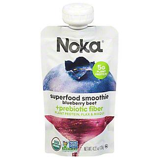 Noka Organic Superfood Smoothie Blueberry Beet, 4.22 oz