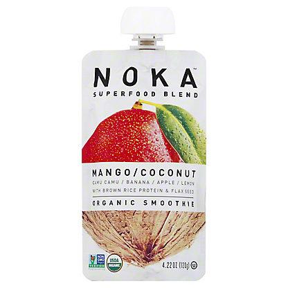 Noka Organic Superfood Smoothie Mango Coconut, 4.22 oz