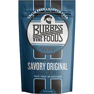 Bubba's Snack Mix Savory Original, 4 oz