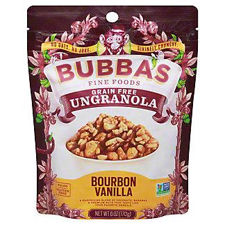 Bubbas Ungranola Bourbon Vanilla, 6 oz