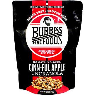 Bubbas Ungranola Cinnful Apple, 6 oz