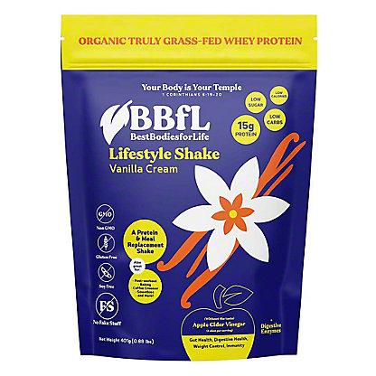 BestBodiesforLife Vanilla Cream Protein Shake, 420 g
